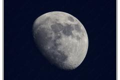 Hossegor - La Lune vue de la plage