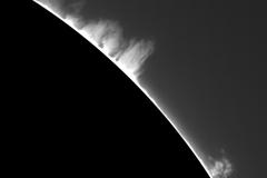 Soleil H-alpha du 18/06/2015